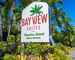 Bay View Suites Entrance Sign